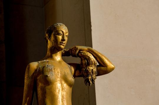 Paris, Paris, Palais de Chaillot, Parvis des droits de l'Homme, NICLAUSSE, Paul : le Printemps