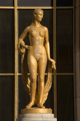 Paris, Palais de Chaillot, Parvis des droits de l'Homme, GIMOND, Marcel : Flore