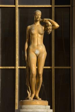 Paris, Palais de Chaillot, Parvis des droits de l'Homme, NICLAUSSE, Paul : le Printemps