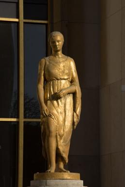 Paris, Palais de Chaillot, Parvis des droits de l'Homme, CORNET, Pierre, La Campagne
