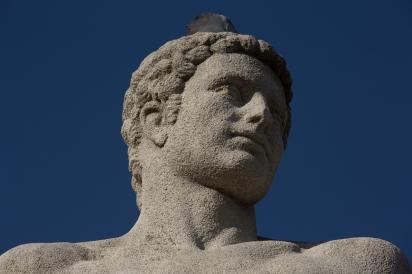 Paris, Jardin du Trocadero, TRAVERSE, Pierre : l'Homme