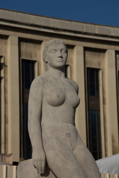 paris, Jardin du Trocadéro, BACQUÉ, Daniel : la Femme