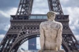 Paris, Jardin du Trocadéro, TRAVERSE, Pierre : l'Homme