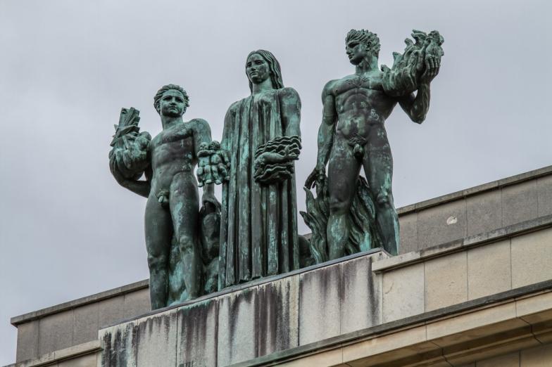 Paris, Palais de Chaillot, SARRABEZOLLES, Carlo : les éléments